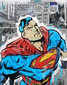 CRISP - Superman Giclee - Signed and numbered - (2017)