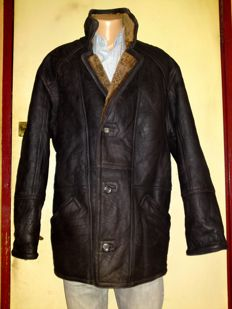 Arizona - Original Shearling Coat & Gloves