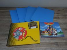 Tom & Jerry the Movie 1992: Style guide, Original movie frame. Sketch books A3. License and style guide, Catch the Excitement 1994
