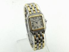 Cartier - Panthere - 3 Row Gold - Ref. W25028B8 - Midsize - Unisex - 1990-1999