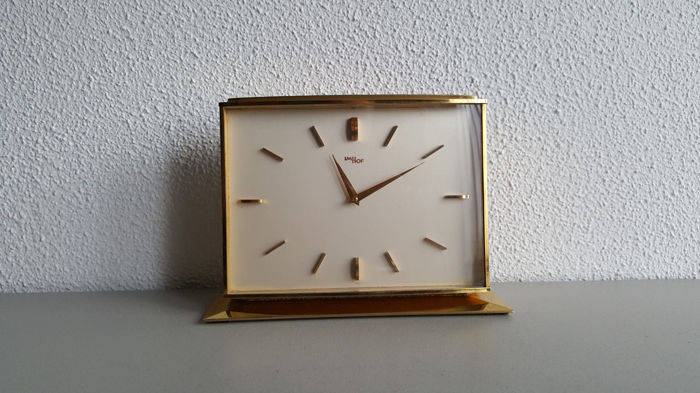 Swiss table clock - Imhof - 1950