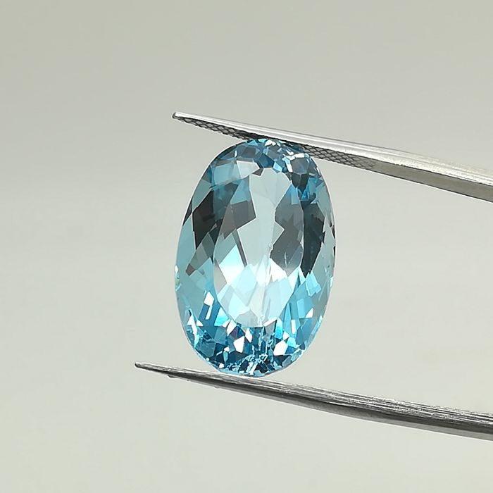 Swiss Blue Topaz 17.12 ct