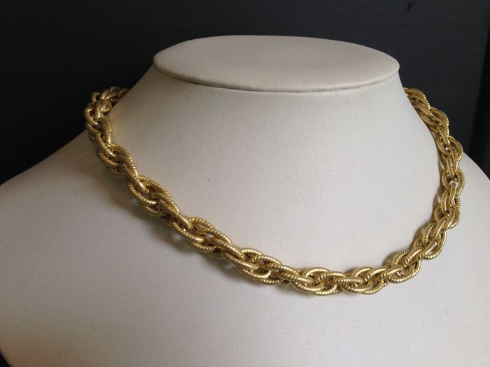Necklace in 18 kt (750) yellow gold