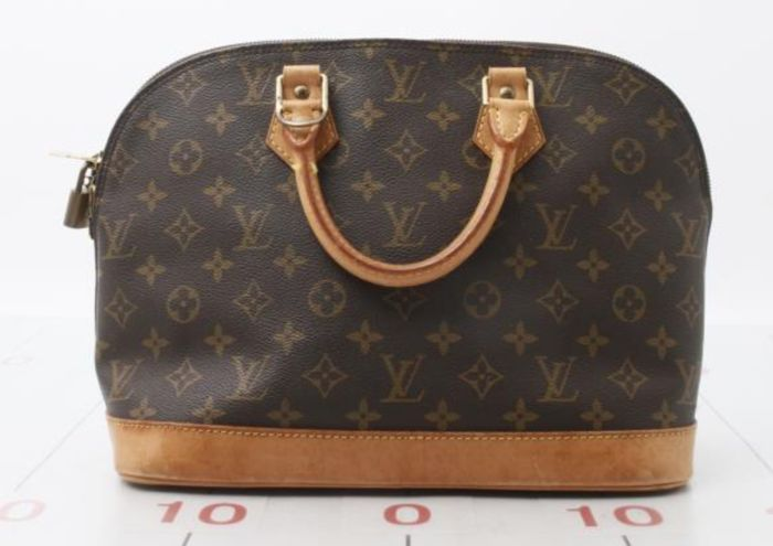 a627ec587c Louis Vuitton - Alma - Sac à main - Monogram Handbag - Catawiki