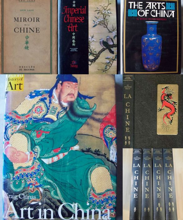 Lot with 5 books on Chinese art and culture - 1933/1997.