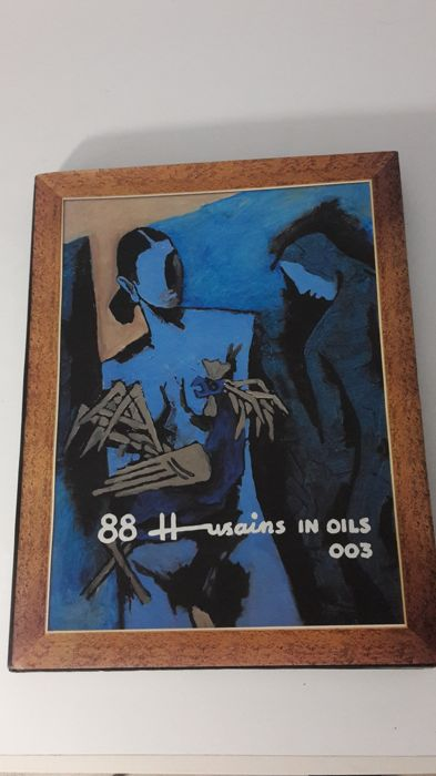M.F. Husain - 88 Husains in Oils - 2003