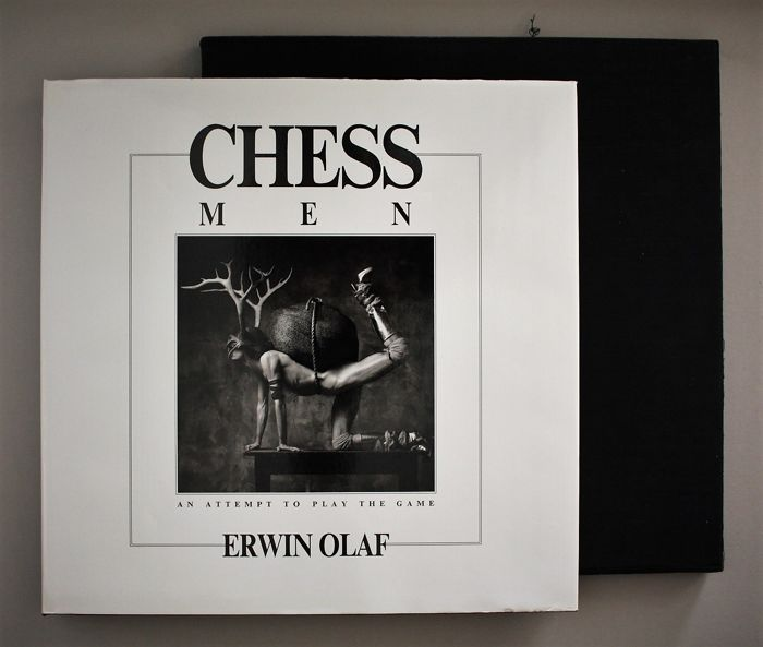 Erwin Olaf - Chess Men, an attempt to play the game - 1984