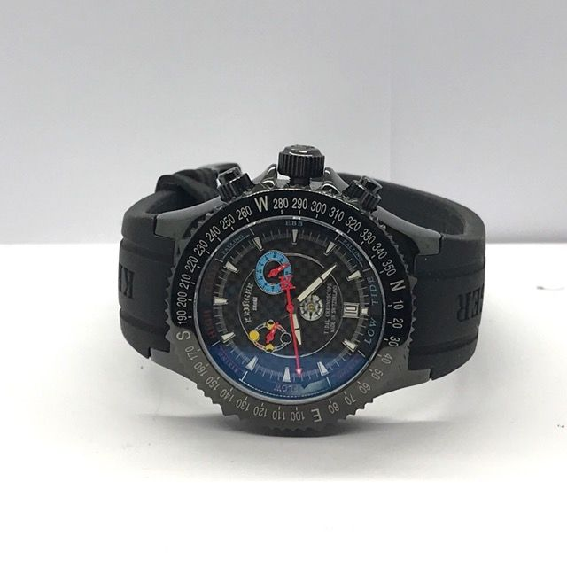 Krieger - Tido  Chronograph Quartz stainless steel watch - K1001T2.Black PVD Coating limited Edition - Heren - 2011-heden