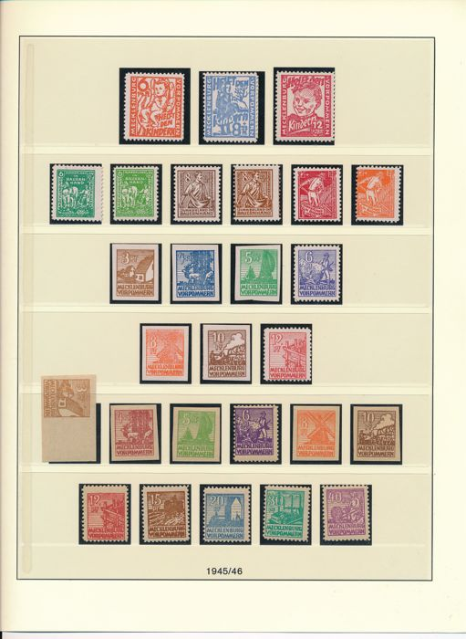 German Soviet Zone - 1945 - 1949 -