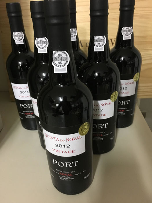 2012 Vintage Port - Quinta do Noval - 6 bottles