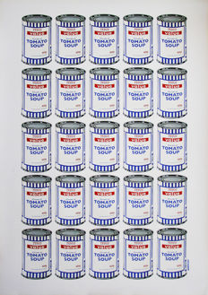 Banksy - Tesco Soup Cans
