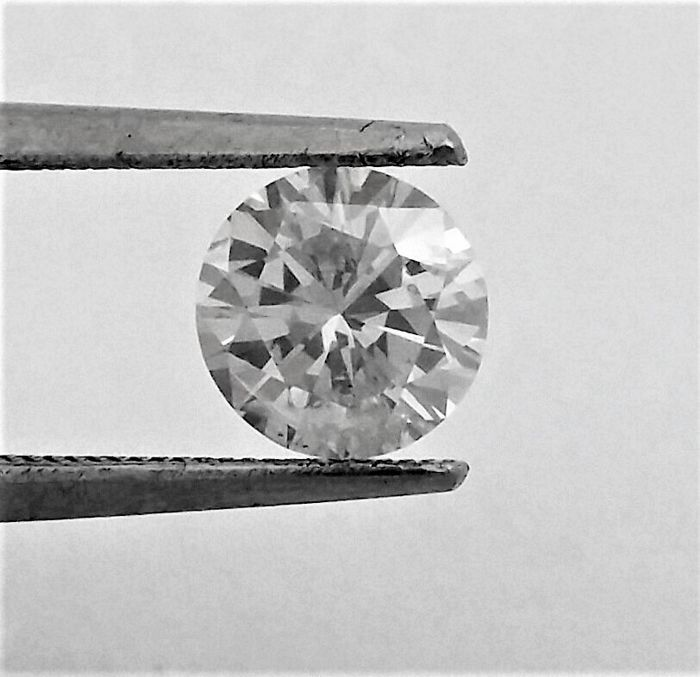 1.03 carat Diamond , F color , SI2 clarity , UNTREATED , AIG certified + Laser Inscription on Girdle