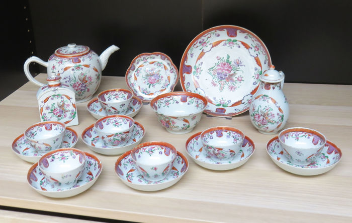 Qianlong 20 delige Chine de Commande set - China - ca. 1730/60