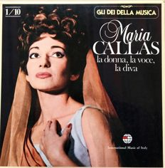 Two Box Sets of Maria Callas - 20 LPs
