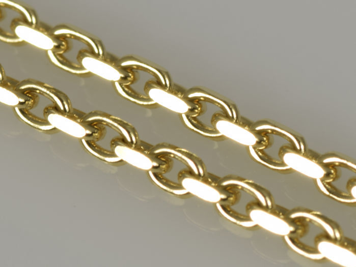 18k Gold Necklace. Solid Chain · Length 50 cm · Weight 3.99 g. No reserve price