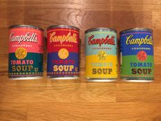 Andy Warhol  - 50th Anniversary Campbells Soup Tins Cans Pop Art