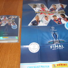 Panini - 632 cards from different collections, Album, Boosters - Champions League, Euro, Match Attack...