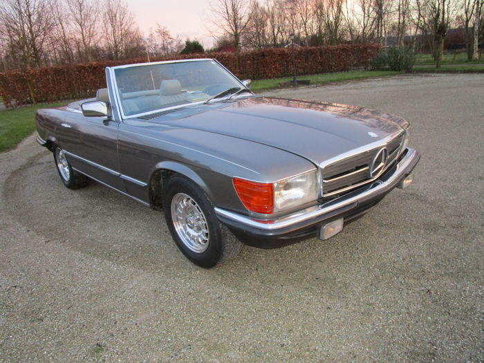 Mercedes-Benz - 280 sl euro roadster - 1985