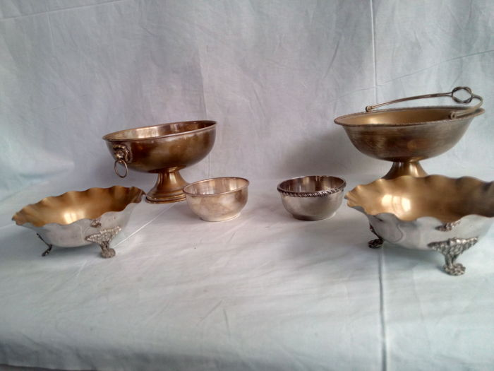 Silver Plated Bowls Lot