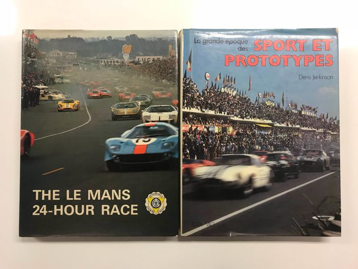 BOOKS 24 Hour le mans race + Sport et prototypes