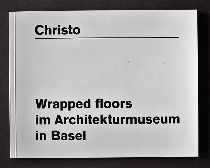 Christo - Wrapped floors im Architecturmuseum in Basel - 1984
