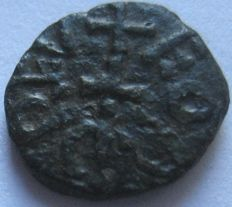 England, Anglo Saxon - Styca Aethelred II King of Northumbria 2nd Reign (c.844-c.850)