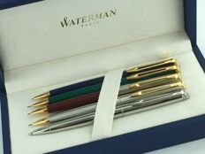 5 Waterman Hemisphere pencils New Old Stock.