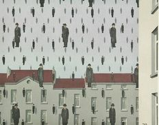 Rene Magritte (after) - Golconde