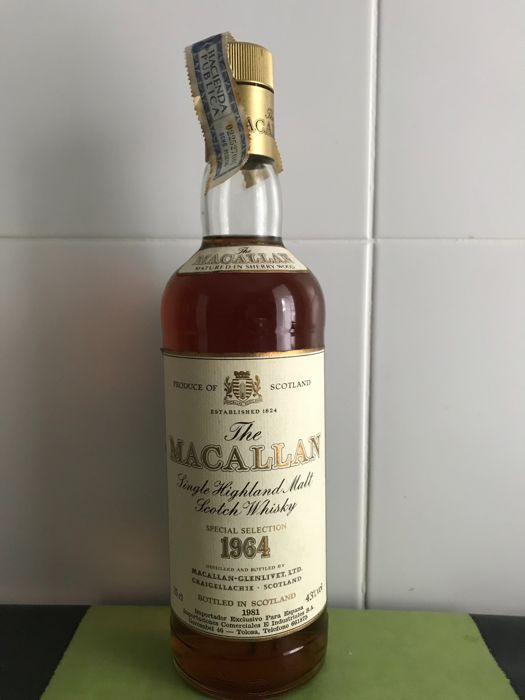 The Macallan 1964 Special Selection - Matured in Sherry Wood - OB