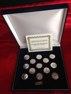 Biblical wedding Arras in 925 Silver with certificate