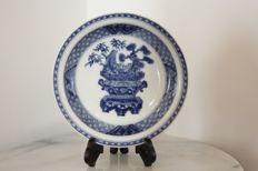Blue and white porcelain bowl - China - Qing dynasty, Kangxi era (1662-1722)