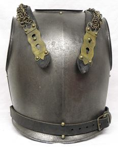 French Breastplate of Cuirassiers on Horseback