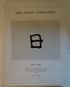 Eduardo Chillida  - Opus P. III. Catalogue of works of the press graphic 1986-1996 - 1996