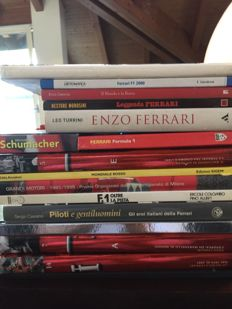 Ferrari and Racing - Large lot of FERRARI RACING books
