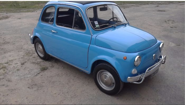 Fiat - 500 F Luxe - 1972