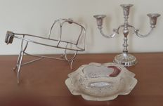 Lot of 3 beautiful silver plated objects