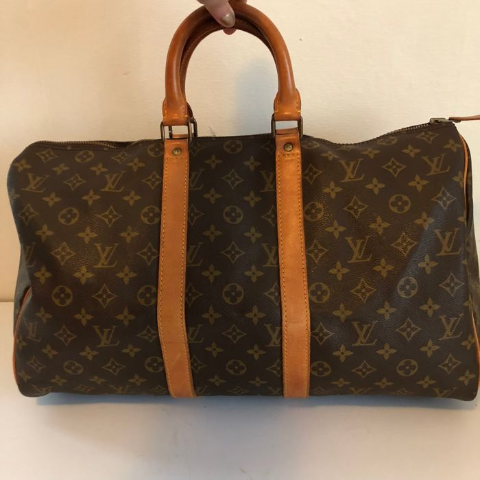 91418fedaa7 Louis Vuitton - Keepall 45 monogram - Overnight travel bag - Catawiki