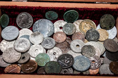 World - Lot of coins from all over Europe from 1830 - 1940 (63 pcs)