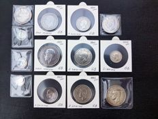 United Kingdom - 3 Pence up to and including ½ Crown 1900/1942 (13 pieces) - silver