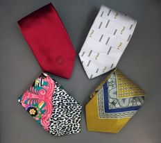 Versace - Ties Lot of 4