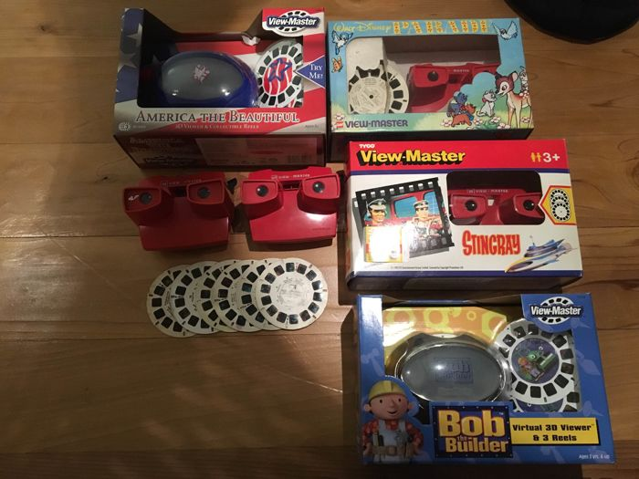 4x View Master orginele box