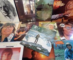 John Denver. Lot of twelve (12) beautiful albums of the late John Denver.