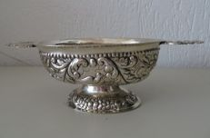 A silver brandy bowl. The Netherlands 19th century
