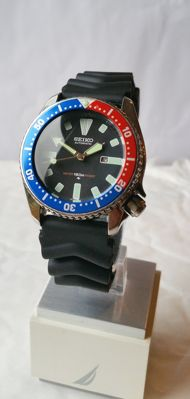 "Seiko 4205-0155 ""Pepsi"" Vintage Submariner from 05-1986"