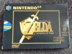 Nintendo 64 games : The Legend of Zelda Ocarina of Time complete in box with manual