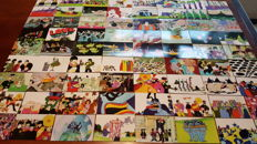 Beatles - Yellow Submarine - Complete trading cards set of 72 Comic Images.