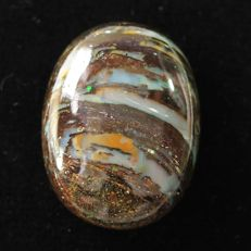 Fine quality Boulder Color play Opal 33.995 cts