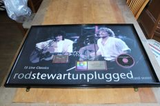 Rod Stewart- Fantastic RIAA LP Award for Unplugged - large award