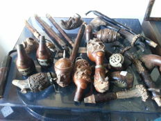 Old Tyrolean pipes