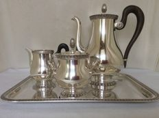 Coffee set, 4 pieces, Christofle France ca 2005